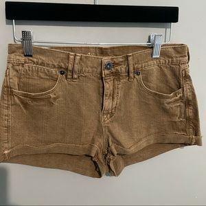 Madewell shorts size 26 rusty brown